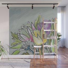 Protea bouquet Wall Mural