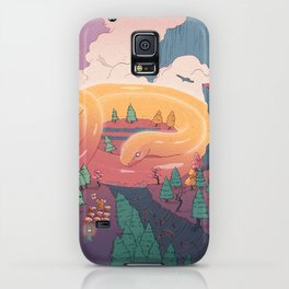 The creature of the mountain iPhone Case