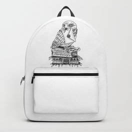 Hedwig On Books Backpack