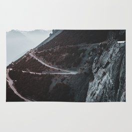 Roads of the Mountain (Color) Rug