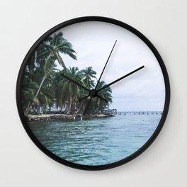 Island in the Sun Wall Clock