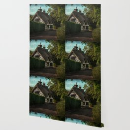 A Berkshire Half Timbered Cottage Wallpaper