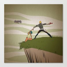 A Daring Escape Canvas Print