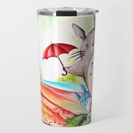 """Behind the tree"" Travel Mug"