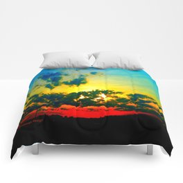 Curdled Clouds Comforters