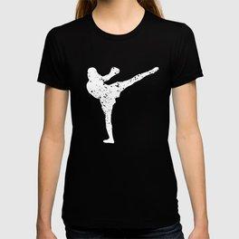 beautiful karate jiujitsu design T-shirt