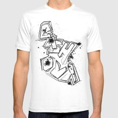 Cash Out Mens Fitted Tee White MEDIUM
