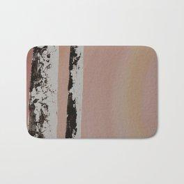 Sunset Birch #1 Bath Mat