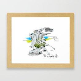 Mr Whalehead Framed Art Print