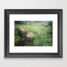 @VisitingSteven Framed Art Print
