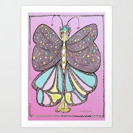 Queen - TheButterflyKigdom.com Art Print