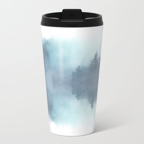 Forest Reflections Metal Travel Mug