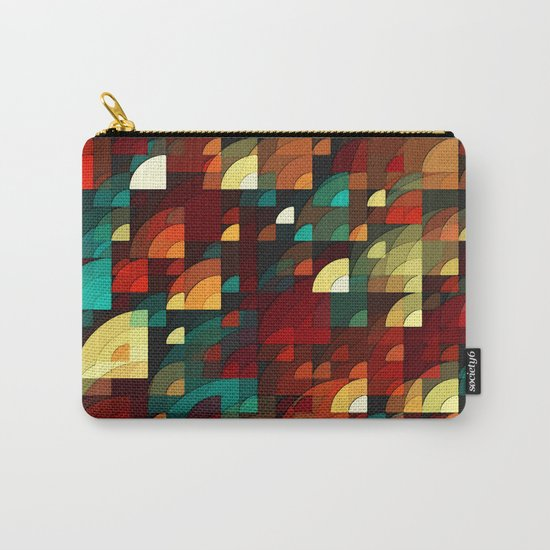 abstract fish scales  Carry-All Pouch