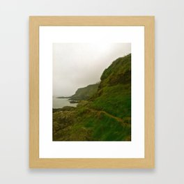 Foggy Irish Morning Framed Art Print