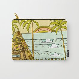 a frame dream home in paradise simple life by surfy birdy Carry-All Pouch