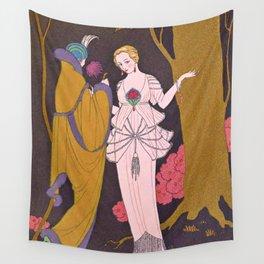 George Barbier Coromandel c1932 Wall Tapestry