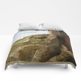 You're One In A Chameleon Comforters