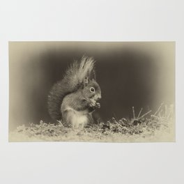 Red Squirrel Rug