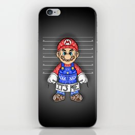 It's ME, Evil Mario !  iPhone Skin