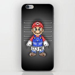 It's ME, Evil Mario !  iPhone Skin