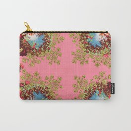 Traditional folk embroidery with flowers Carry-All Pouch