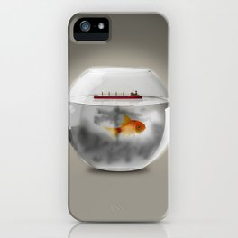 Petroliera / Tanker iPhone Case