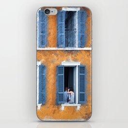 Look Through Any Window iPhone Skin