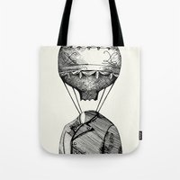 balloon Tote Bags featuring Balloon by Ilya kutoboy