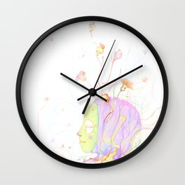 be flower Wall Clock