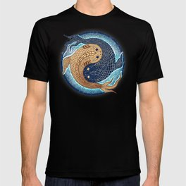 shuiwudáo yin yang mandala T-shirt
