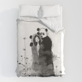 Lonely, Lonely... Duvet Cover