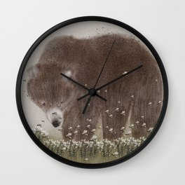 The flight of the bumble bee Wall Clock