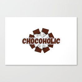 Chocoholic Canvas Print