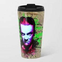 James Cagney, angry Travel Mug