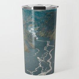 Braided Rivers in Þórsmörk, Iceland Travel Mug