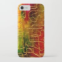 labyrinth iPhone & iPod Cases featuring Labyrinth by Chicca Besso