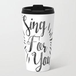 Sing For You | EXO Travel Mug