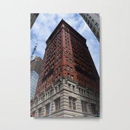 Pittsburgh Tour Series - Building Metal Print