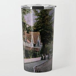 1900 Canford Magna village Dorset England Travel Mug