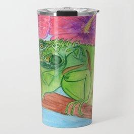 U wanna Iguana Travel Mug