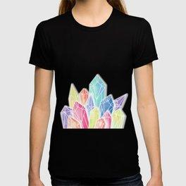 Crystals Yellow T-shirt