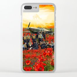 Unfulfilled Dreams Clear iPhone Case