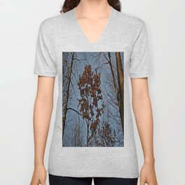 Last to Fall Unisex V-Neck