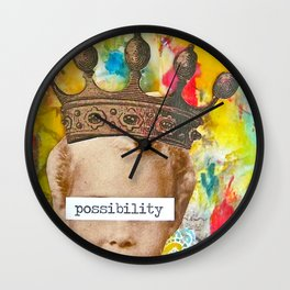The Possibility that Lay Before You Wall Clock