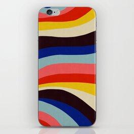 Dynamic bands XVII iPhone Skin