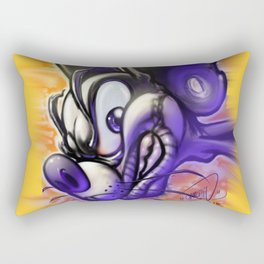 Psycho Rodent Rectangular Pillow