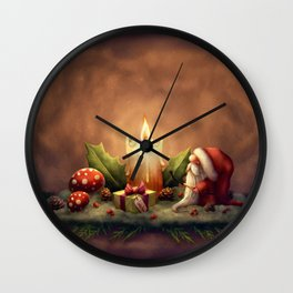 Light a Candle Wall Clock