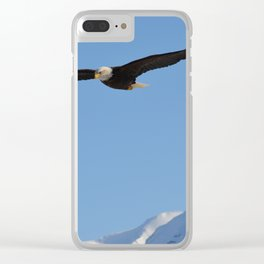 Soaring High!  -  Mature Clear iPhone Case