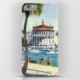 Avalon, Catalina Island iPhone Case