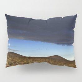 Moon Over The Slopes Of Mauna Kea Pillow Sham